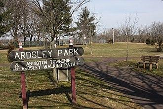 Ardsley, Pennsylvania - Image: Ardsley Park, Ardsley PA 01