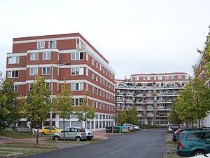 Jinonice - Buildings of the Charles University in Jinonice