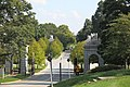 Arlington National Cemetery - looking S at rear of Schley Gate - 2011.jpg
