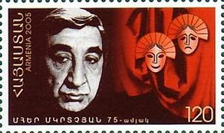 Frunzik Mkrtchyan Soviet actor and theatre director