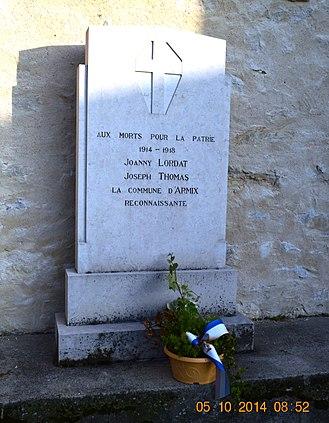 Armix - Armix War Memorial