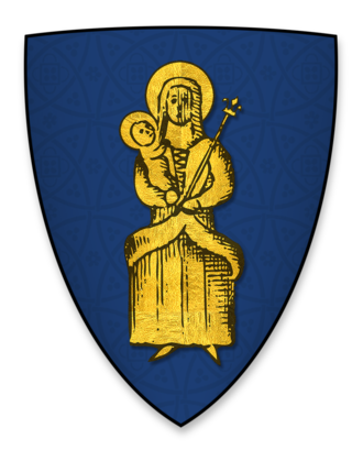 Herbert Poore - The coat of arms displayed by Herbert Poore, Bishop of Salisbury, at the signing of Magna Charta