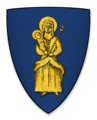 Arms displayed by Herbert Poore, Bishop of Salisbury, at the signing of Magna Charta.png