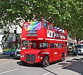 Arriva London RMC1464 464CLT - Pride in London 2019 (48233453226).jpg