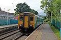 Arriva Trains Wales Class 150, 150245, Gwersyllt railway station (geograph 4024869).jpg