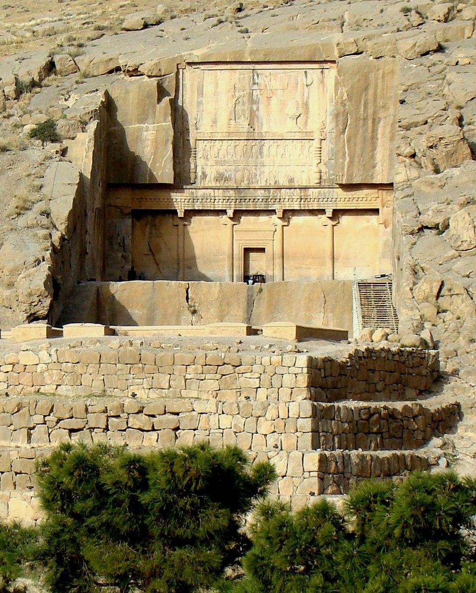 Artaxerses III tomb