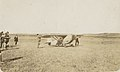 Arthur Butler and the Comper Swift aeroplane G-ABRE in field, 1931 (3).jpg