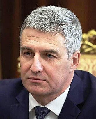Head of the Republic of Karelia - Image: Arthur Parfenčikov (15 02 2017)