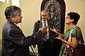 Arun Kumar Chatterjee - Saroj Ghose - Chhanda Mukherjee - Kolkata 2014-02-14 3230.JPG