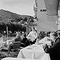 Ascona Gasten op het terras van Hotel Müller, Bestanddeelnr 254-4844.jpg