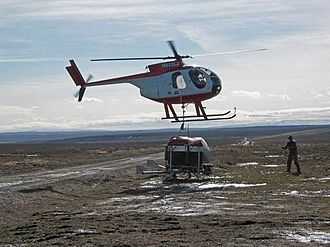 Aerial seeding - helicopter Aerial Seeding