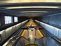 Ashby station platform from escalator, March 2018.JPG