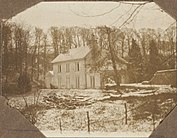 Photo of Asham house in 1914