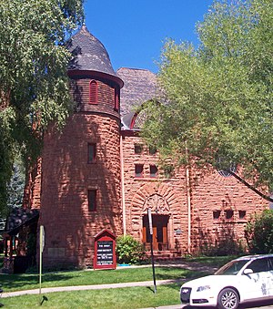 National Register of Historic Places listings in Pitkin County, Colorado - Image: Aspen Community Church