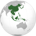 Association of Southeast Asian Nations plus three (orthographic projection).svg