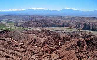 Ultramarathon - View from the Atacama Crossing 2011.