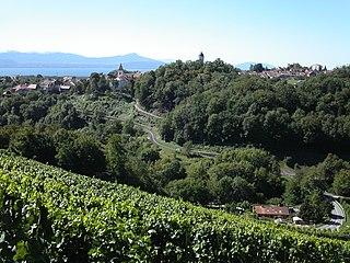 Aubonne Municipality in Switzerland in Vaud