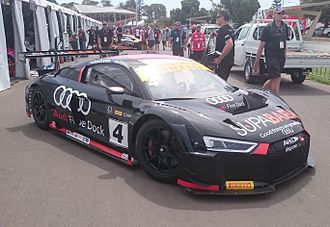 2016 Australian GT Championship - James Koundouris and Marcus Marshall placed fifth sharing a Audi R8 LMS