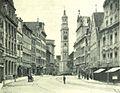 Augsburg Perlachturm Bronner 1898.jpg