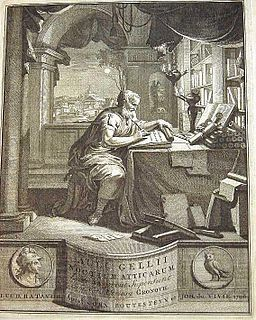 Aulus Gellius Latin author and grammarian
