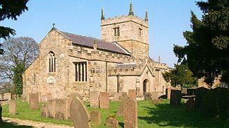 St John the Baptist's Church, Ault Hucknall - Image: Ault Hucknall St John the Baptist Church 043249 9500fe 0c