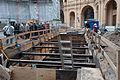 Ausgrabungen Slawischer Burgwall im Schweriner Schloss (DerHexer) 2014-11-15 10.jpg