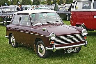 Austin A40 Farina - Image: Austin A40 Mk II front