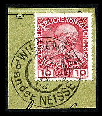 Postmark - Austria stamp and postmark