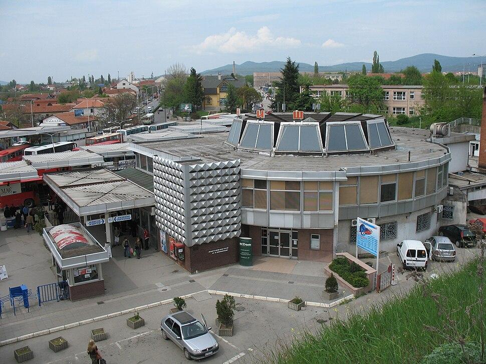 Autobuska stanica u Nisu