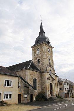 Autrecourt-et-Pourron (08 Ardennes) - l' Église Saint-Victor - Photo Francis Neuvens lesardennesvuesdusol.fotoloft.fr.JPG