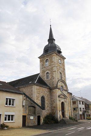 Autrecourt-et-Pourron - The Church of Saint-Victor