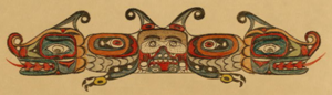 Seattle Fault - Representation of the a'yahos spirit.