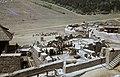 Az egri vár kicsinyített mása az Egri csillagok című film forgatásakor. Fortepan 85664.jpg