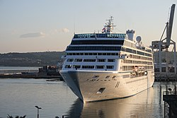 Azamara Journey closing in to dock.jpg