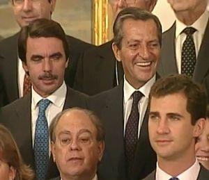 Aznar, Suárez, Pujol, Felipe de Borbón 1995