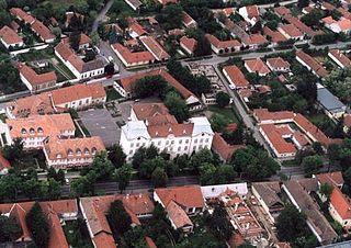 Békés Town in Hungary