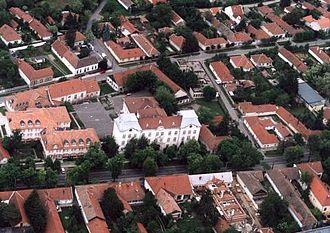 Békés - Békés from above