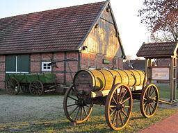 """Museum park """"Am Pallert"""" in Boesel (Landkreis Cloppenburg, Lower Saxony)"""