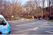 Straßenbahn der Linie 11 im Mordgrund