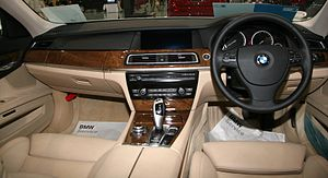 BMW 7 Series (F01) - 740i interior