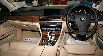 BMW 7 Series (F01) - 740i interior