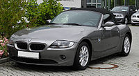BMW Z4 2.2i (E85) – Frontansicht (1), 26. Juni 2011, Mettmann.jpg