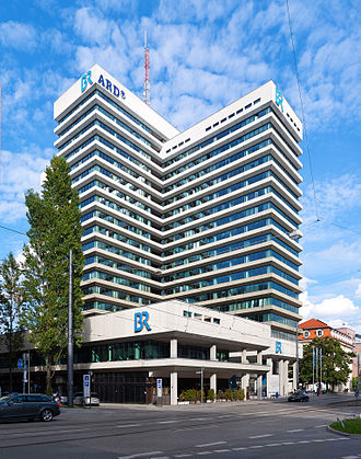 Bayerischer Rundfunk - BR's headquarters in Munich