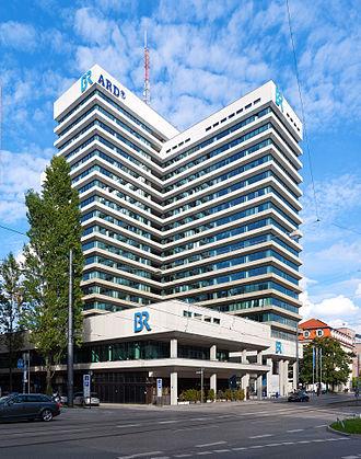Bayerischer Rundfunk - BR's headquarters in Munich