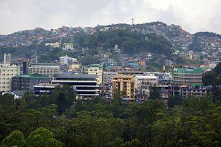 Metro Baguio Metropolitan Area in Philippines