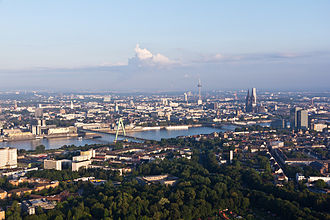 Rhine-Ruhr - Aerial view of Cologne