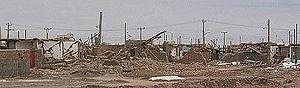2003 Bam earthquake - The earthquake damage in Bam