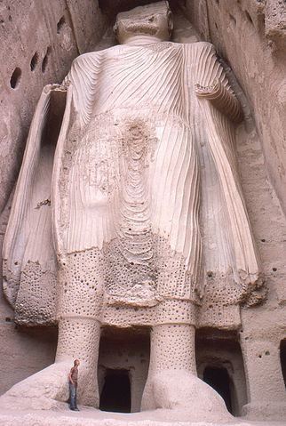 Bamyan Buddha By Phecda109 (Own work) [Public domain], via Wikimedia Commons