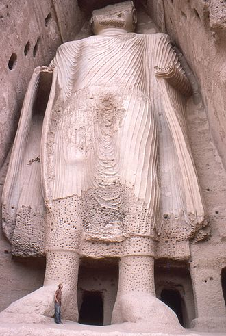 Buddhism in Afghanistan - One of the Buddhas of Bamiyan