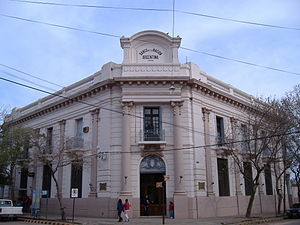 Colón, Entre Ríos - Colón branch of the National Bank.